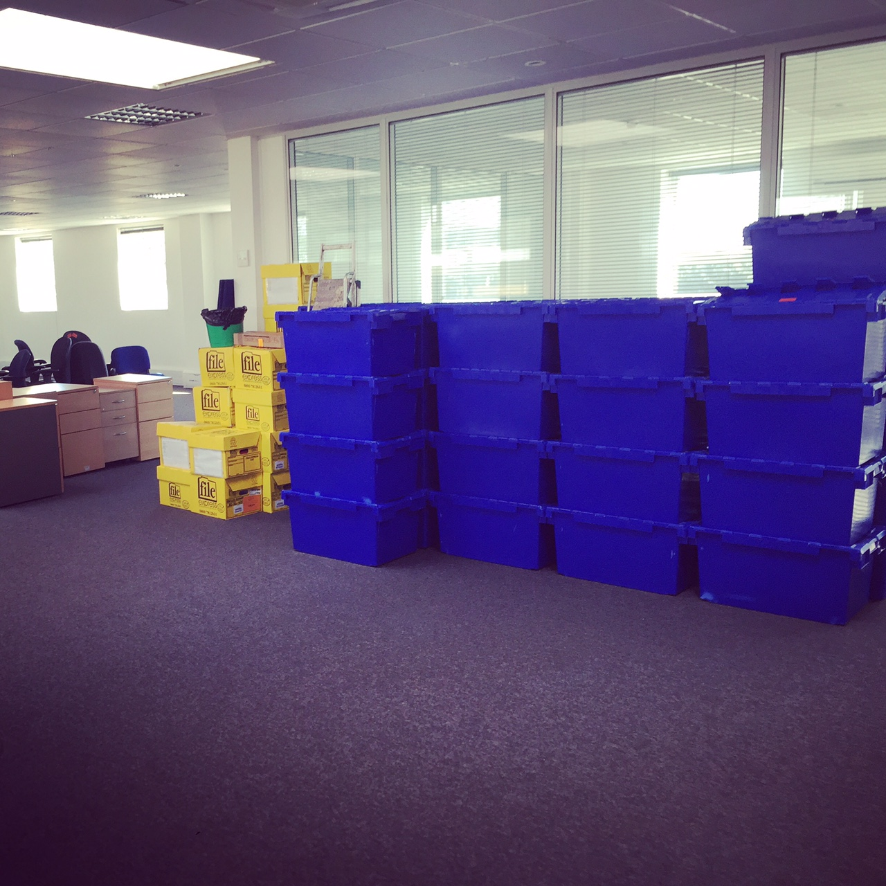 office removals crates hire