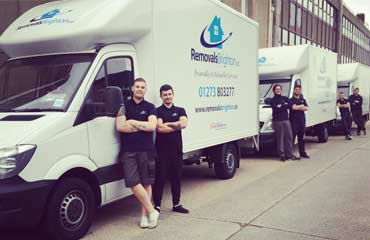 House removals team Brighton